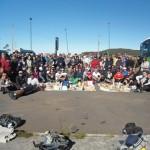 Caminhada de Inverno Anjo conta com 118 participantes na subida da serra do Rio do Rastro