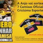 Quer ganhar uma camisa do Criciúma Esporte Clube?
