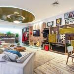 Tudo num só espaço – Studio 1 – ambiente da Casa Cor Goiás 2013