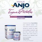 Anjo lança Tinta Acrílica Premium Toque de Pétalas