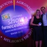 Anjo recebe prêmio Show de Fornecedor na Bahia