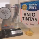 Anjo recebe Prêmio Anamaco por pulverização da linha automotiva