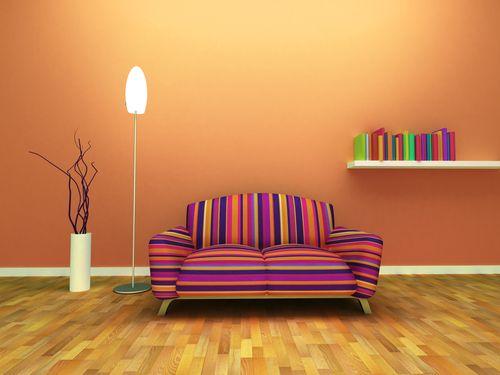 Aposte em ambientes com tom laranja