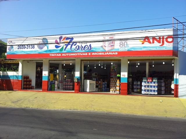 7 Cores Tintas em Piabetá - Magé (RJ)