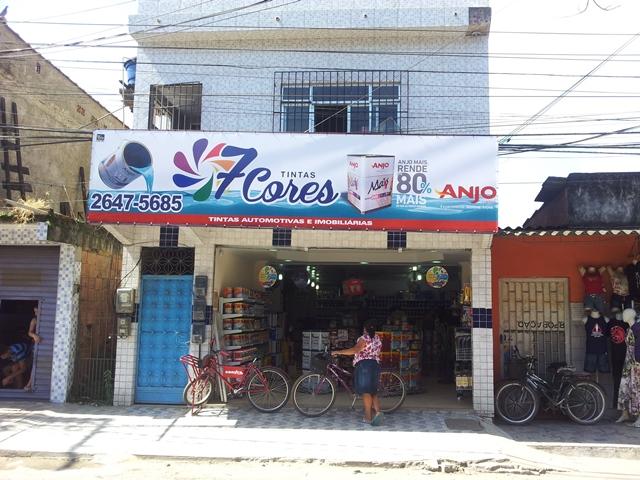 7 Cortes Tintas em Suruí - Magé (RJ)