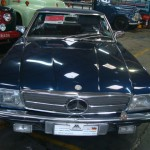 Carro antigo: 500-SL Conversível da Mercedes-Benz
