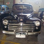 Carro antigo: Sedan Luxo da Ford de 1947