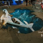 A ilusão das pinturas 3D de Nikolaj Arndt