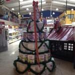 Criatividade: latas Anjo se transformam em árvores de Natal