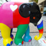 Anjo Tintas adquire escultura que patrocinou na Elephant Parade e parte do valor será revertido para Casa GUIDO