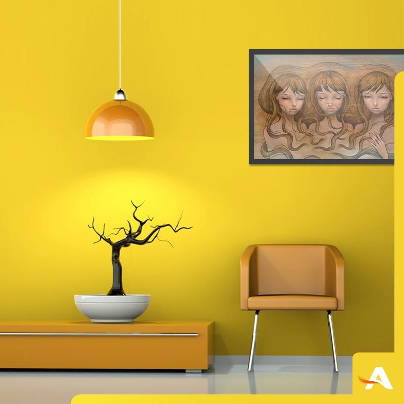 cores - amarelo