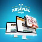 Anjo lança Sistema Arsenal: um site com conteúdos da marca exclusivo para clientes