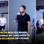 Cuiabana Tintas realiza maior evento regional de lançamento da linha AnjoCarbon em Cuiabá