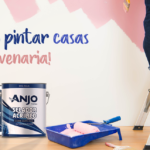 Como pintar casas de alvenaria