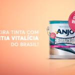 Novidade: A primeira tinta com garantia vitalícia do Brasil é nossa!