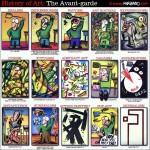 Resumo da História da Arte em quadrinhos