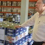 Milton Neves visita a Anjo