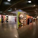 As cores se destacam na Bienal Internacional Grafitti em SP