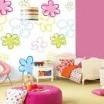 Cores e papel de parede: uma combinação que dá certo
