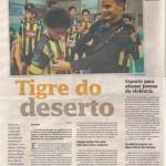 Anjos do Futsal no Diário Catarinense