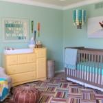 Cores em harmonia no quarto do bebê