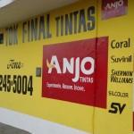 Fachada: Tok Final Tintas valorizando a marca