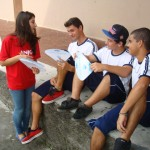Conscientização sobre a importância da água é realizada pela Anjo em escola da comunidade