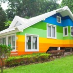 A criatividade na pintura da casa e as cores
