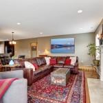 O sofá como peça de destaque na sala