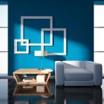 Azul para equilibrar o ambiente