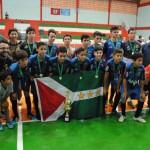 É campeão: sub-13 de Forquilhinha/Anjo Futsal conquista o título do Campeonato Estadual