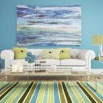 Inspiração com o azul nos ambientes